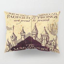 bown map Pillow Sham