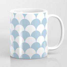 Fan Pattern 321 Pale Blue Coffee Mug