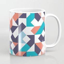 lucid color block - dark purple Coffee Mug