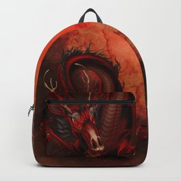 Elemental Fire Dragon Backpack