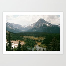 rockies Art Print