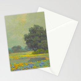 Granville Redmond (1871-1935) Landscape Flower Field Stationery Cards