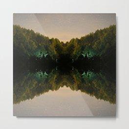 Perfect Reflection Metal Print