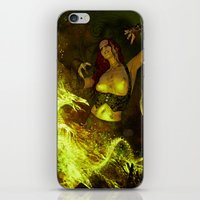 witchcraft iPhone & iPod Skins featuring Witchcraft by Pinturero
