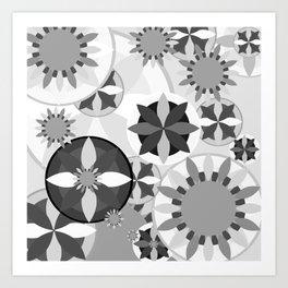 Flowery Flow IV Art Print