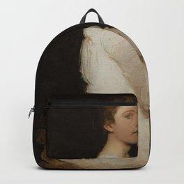 Abbott Handerson Thayer - Girl in White (Margaret Greene) Backpack