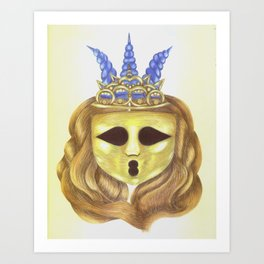 The Diadem Ghostess.  Art Print