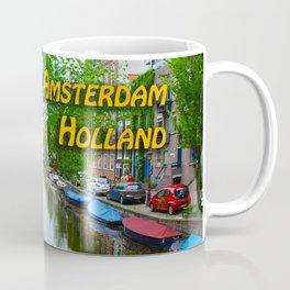 Amsterdam Holland Canal Coffee Mug
