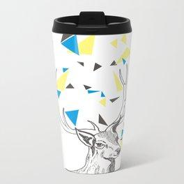 Rainbow Collection / deer Metal Travel Mug