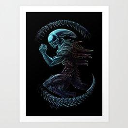 Xenomorph Kunstdrucke