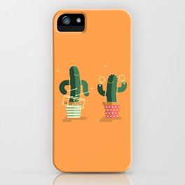 CACTUS BAND / Caixa & Maracas iPhone Case