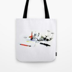 Drawing Droids Tote Bag