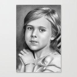 Child Portrait 01 Canvas Print