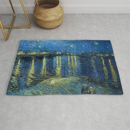 Starry Night Over The Rhone - Van Gogh Rug