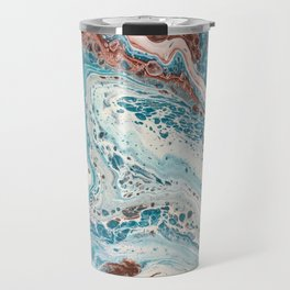 And So The Creek Flows Travel Mug