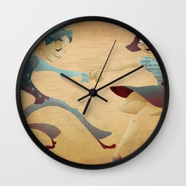 Swing dance 2 Wall Clock