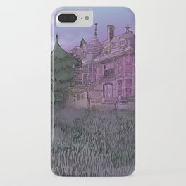 Misty Mansion iPhone Case