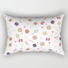 sailor moon pattern Rectangular Pillow