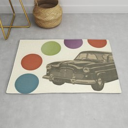 Driving Around in Circles Rug