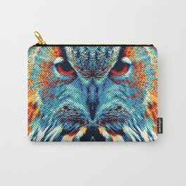 Owl - Colorful Animals Carry-All Pouch