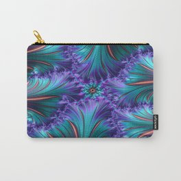 Fire Fractal Carry-All Pouch