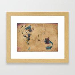 charleston dancer Framed Art Print