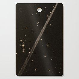 Kendall - Uranography; or a Description of the Heavens (1850) - The Great Comet of 1843, near Rigel Cutting Board