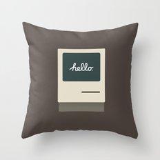 Apple 11 Throw Pillow