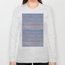 Colorful Abstract Stripped Pattern Long Sleeve T-shirt