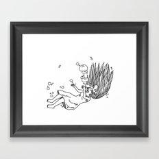 Noyade Framed Art Print