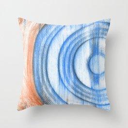 vinyl scratches Throw Pillow
