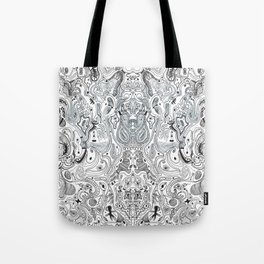 Histological section of my inner world (#4);original version Tote Bag