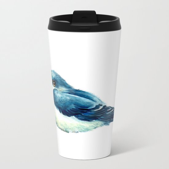 Swallow Metal Travel Mug