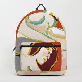 Female pose Backpack