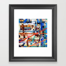 Gwenola (stripes 24) Framed Art Print