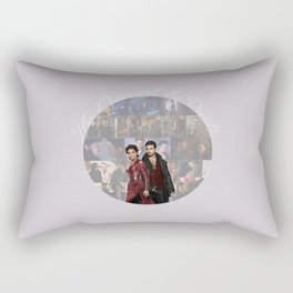 The Queen and the Pirate Rectangular Pillow