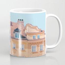Warsaw Pastels - Poland Architecture, Travel Photography Coffee Mug