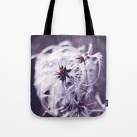 coconut wishes Tote Bags featuring Wishes by Sirka H.