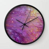 tomb raider Wall Clocks featuring Raider by Justin Similey