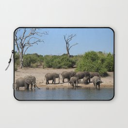 Elephant Safari Laptop Sleeve