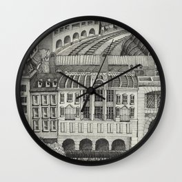 Retiro Train Station 1993 Wall Clock