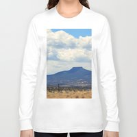 oasis Long Sleeve T-shirts featuring Cerro Pedernal OKeeffe Oasis by AllisonSwindell