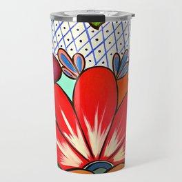 Talavera Tile Travel Mug