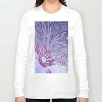 ice Long Sleeve T-shirts featuring ice by donphil