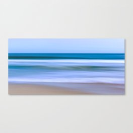 Abstract Ocean Waves Canvas Print