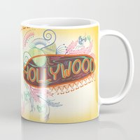 decorative Mugs featuring Decorative Typographic by famenxt