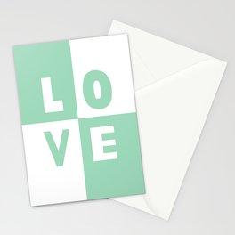 Love Mint Stationery Cards