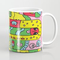 ice cream Mugs featuring Ice Cream by Rabassa