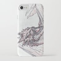 smaug iPhone & iPod Cases featuring Smaug by jamestomgray