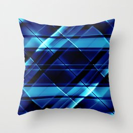 modern stripes pattern c4 Throw Pillow